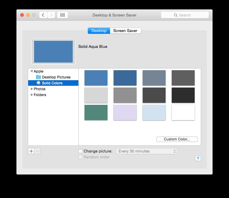 Apple OS X 10 10 Yosemite - Changing colours   My Computer My Way