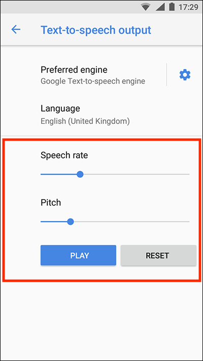 Android 8 Oreo – Text-to-speech output | My Computer My Way