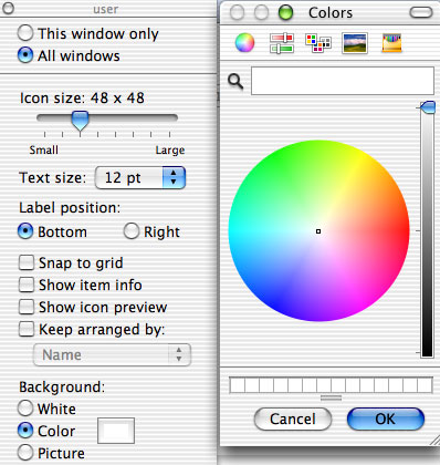 Apple OS X - Changing colours | My Computer My Way