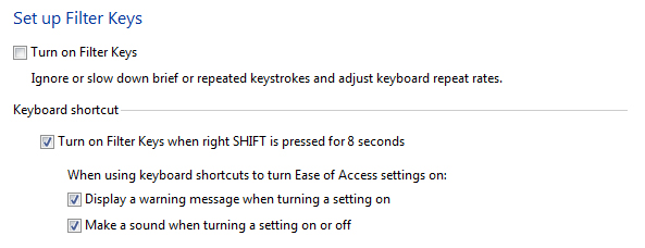 Windows 8 1 - Changing keyboard settings | My Computer My Way