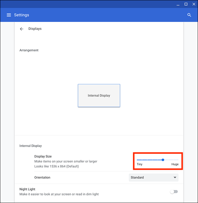 Chrome OS / Chromebook – Making text larger   My Computer My Way