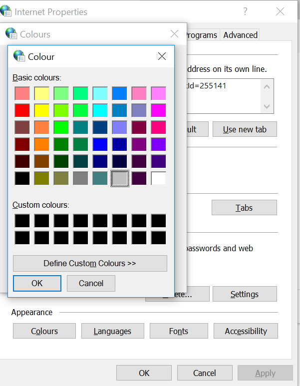 Microsoft Edge – Changing colours   My Computer My Way