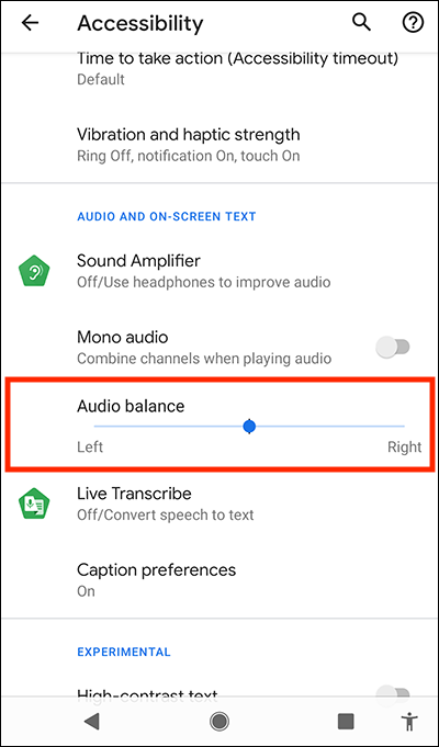 Adjust The Left Right Volume Balance In Android 10 My Computer My Way