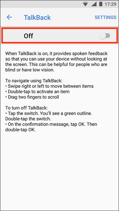Android 8 Oreo – TalkBack | My Computer My Way