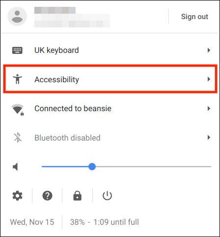 Chrome OS / Chromebook – Accessibility Shortcut | My