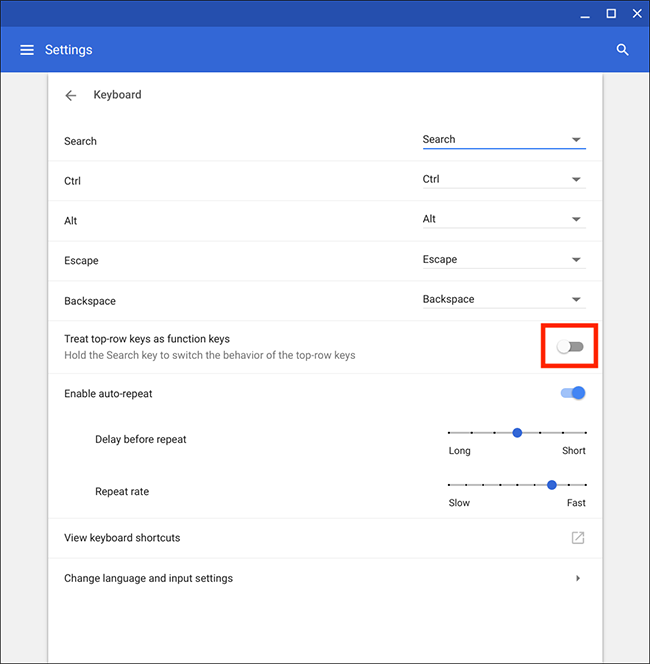 Chrome OS / Chromebook – Changing keyboard settings | My