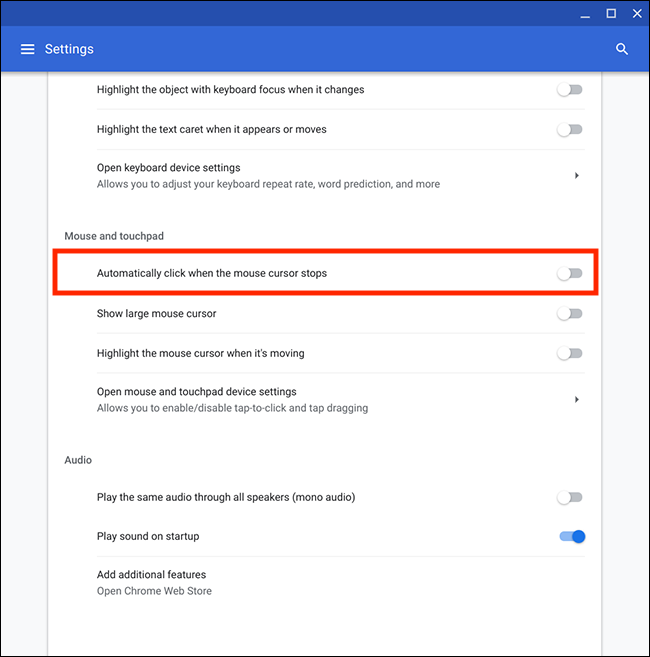How to make your mouse click automatically in Chrome OS | My