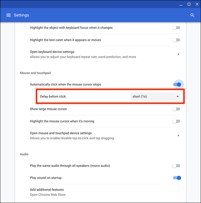 How to make your mouse click automatically in Chrome OS   My