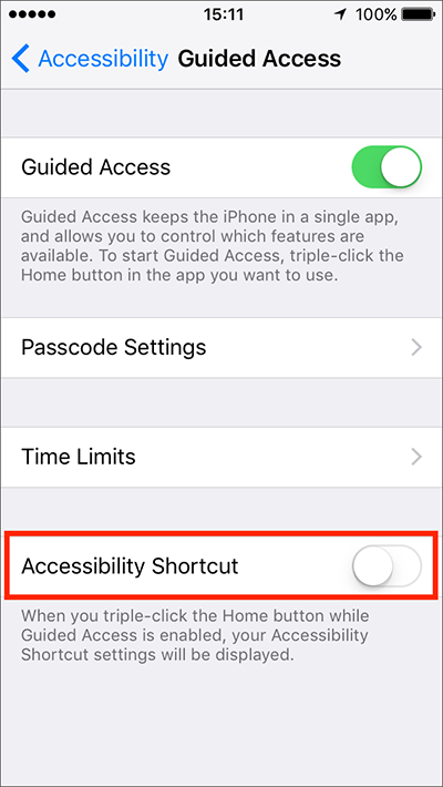 Guided Access – iPhone/iPad/iPod Touch iOS 10 | My Computer