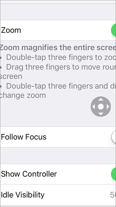 Zoom– iPhone/iPad/iPod Touch iOS 10 | My Computer My Way