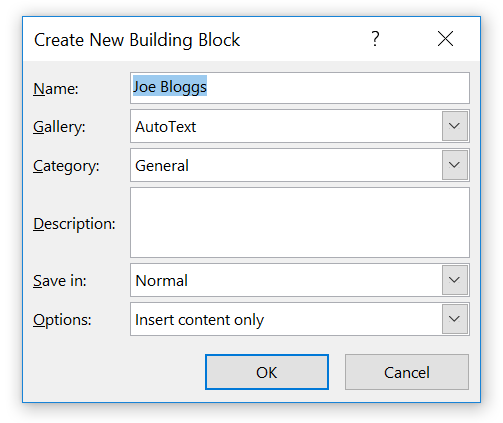 Word for Office 365 - Typing less (Windows) | My Computer My Way