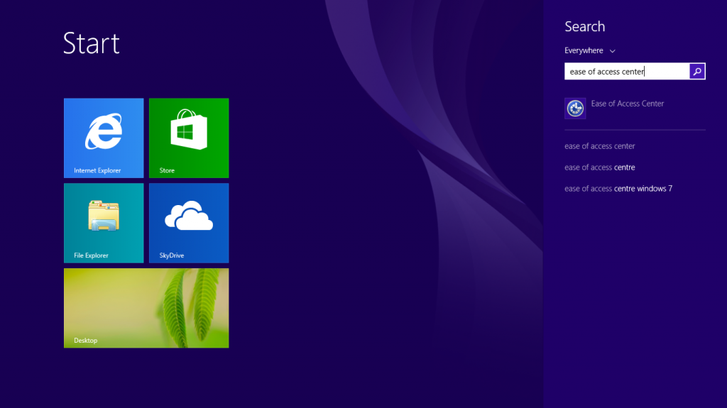 Windows 8 1 - Using your keyboard to control the mouse | My