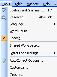 word count for speech
