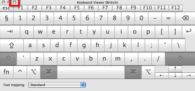 Apple OS X 10 6 Snow Leopard - Using the on-screen keyboard | My