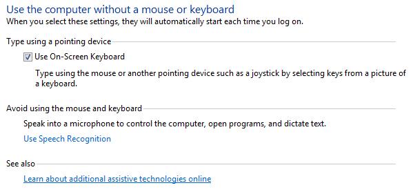 Windows 8 1 - Using Windows on-screen keyboard | My Computer