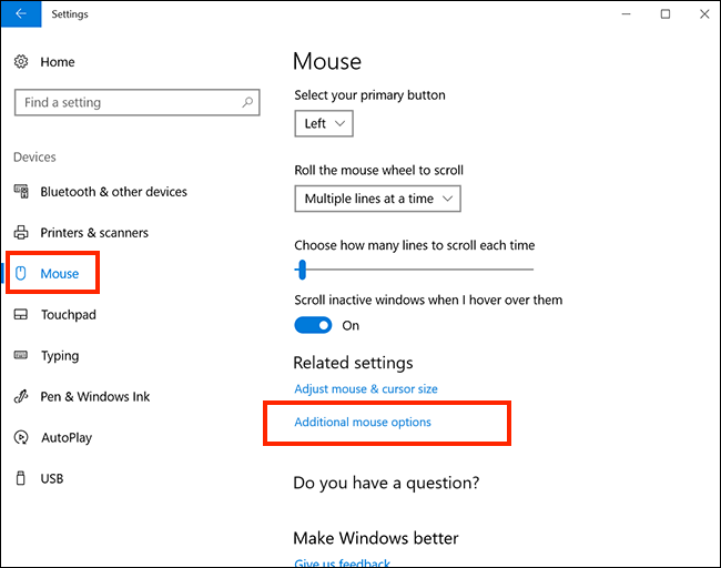 Windows 10 - Slowing down your mouse | My Computer My Way