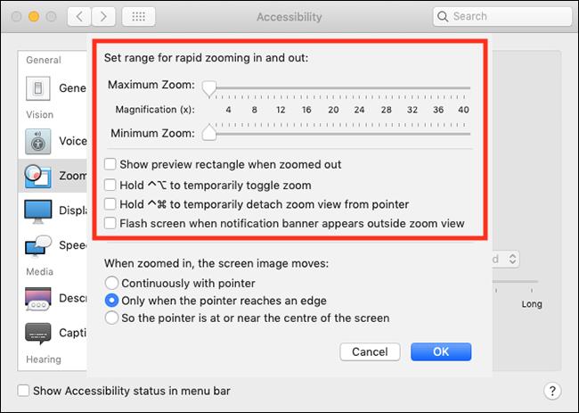 Shortcut for full screen mac